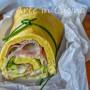 Rotolo salato di pan di spagna con zucchine veloce