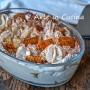 Torta di wafer con crema paradiso al caffè e baileyes