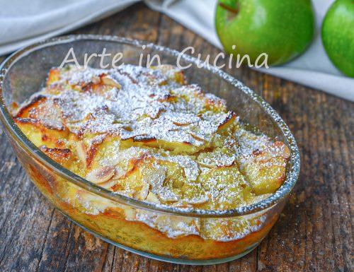 Torta di mele alla veneziana dolce veloce 10 minuti
