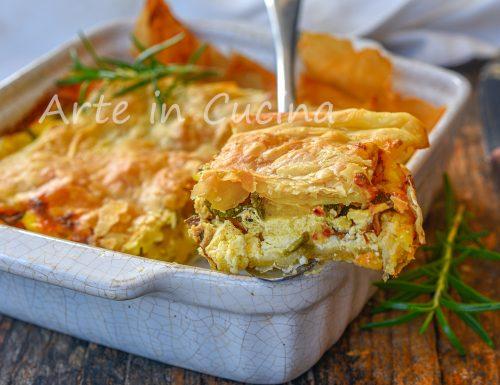 Torta rustica alle zucchine e formaggio