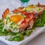 Cestini di uova e prosciutto farciti antipasto o secondo