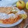 Crostata mele e noci alla crema