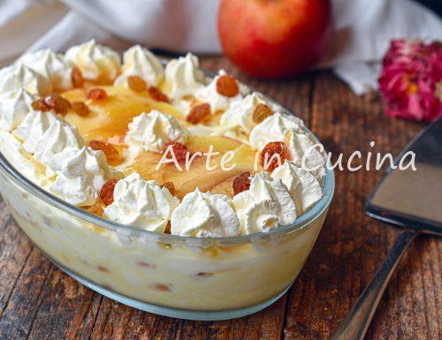 Dolce di mele e biscotti alla crema chantilly melamisù