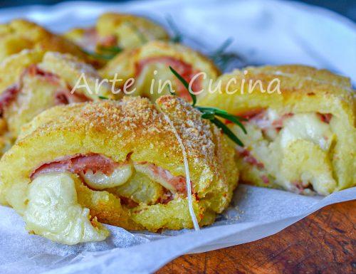 Girelle di patate prosciutto e provola