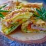 Stuzzichini di sfoglia 5 minuti con zucca e zucchine veloci