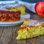 Torta di mele al mascarpone e limone