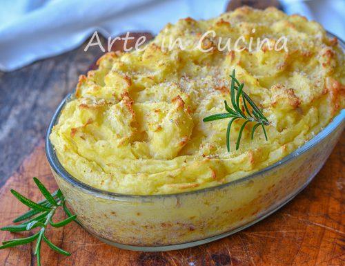 Torta di patate con tonno e stracchino