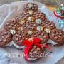 Alberello di pan di stelle e nutella dolce in 10 minuti
