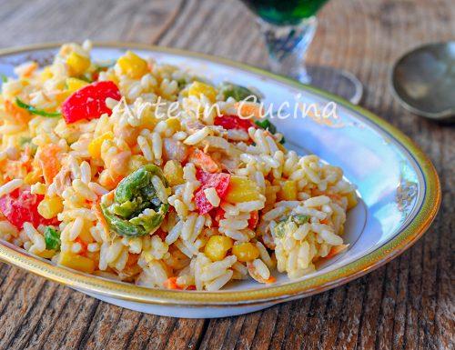 Insalata di riso classica come farla perfetta