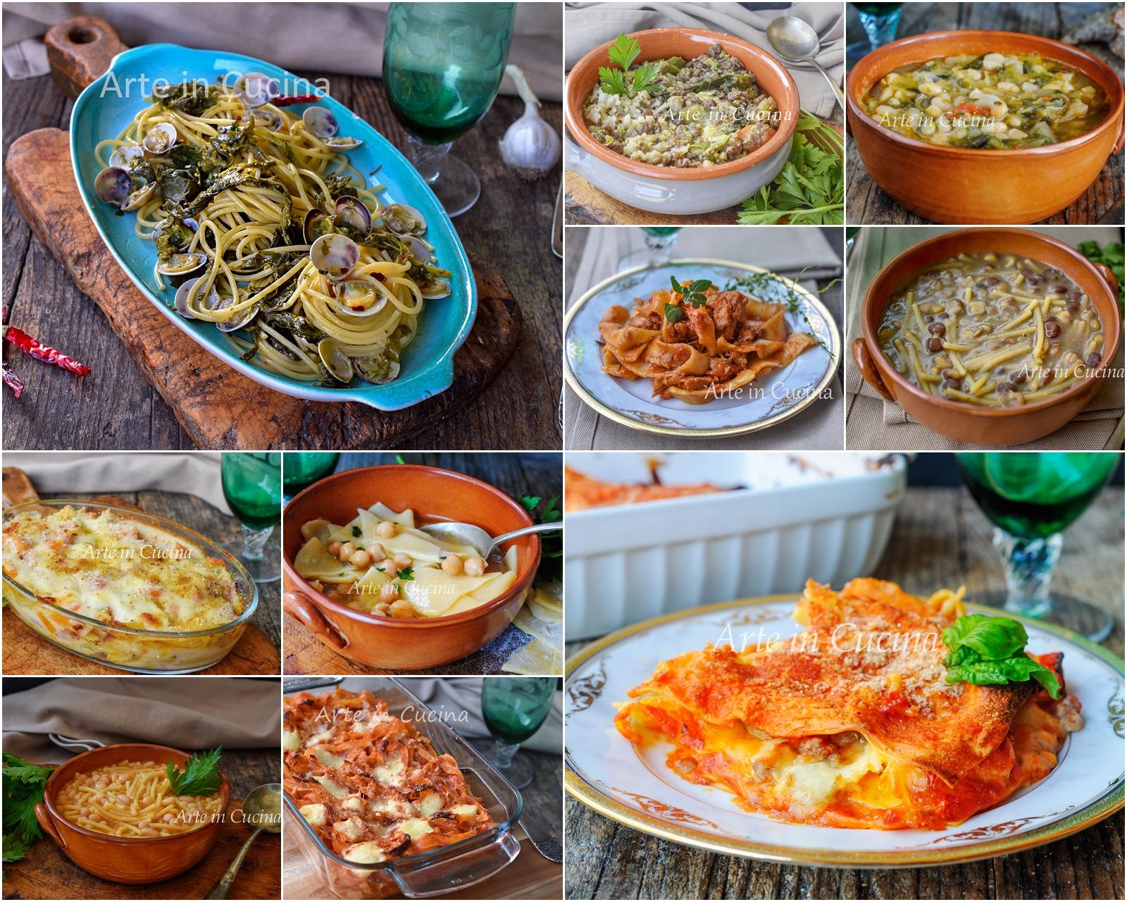 Primi piatti invernali ricette per pranzo o cena