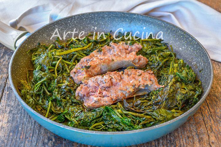 Salsicce e friarielli piatto tipico napoletano come cucinarli al meglio