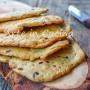 Sfoglie di pane con olive e noci veloci le più buone e croccanti del mondo