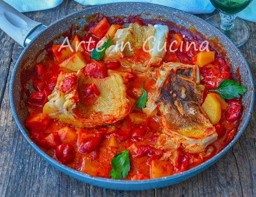 Stoccafisso con patate alla napoletana