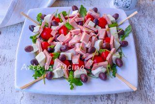 Antipasto all'italiana per feste e buffet