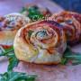 Girelle salmone e stracchino antipasto veloce Natale