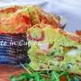 Panettone con patate speck e rucola salato veloce