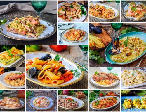 Primi piatti di pesce per capodanno