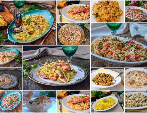 Risotti per le feste primi piatti ricette facili