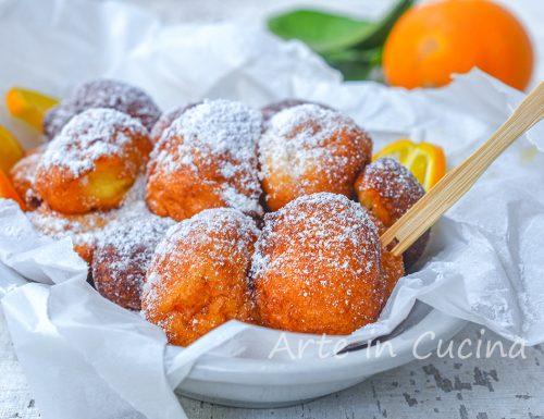 Frittelle ricotta e arancia morbide e velocissime