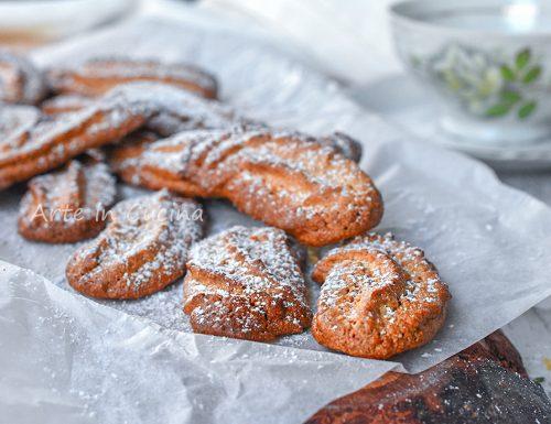 Biscotti ricci siciliani alle mandorle