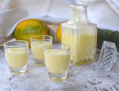 Crema di limoncello napoletana