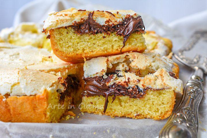Crostata slava morbida con nutella