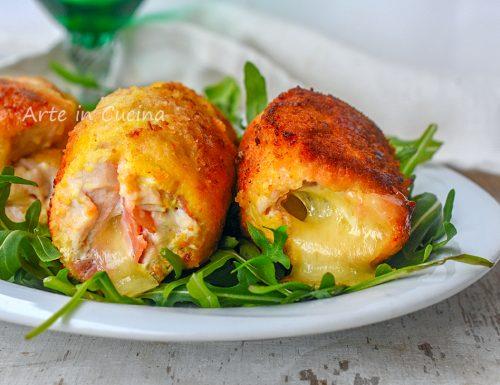 Rotolini in padella di pollo