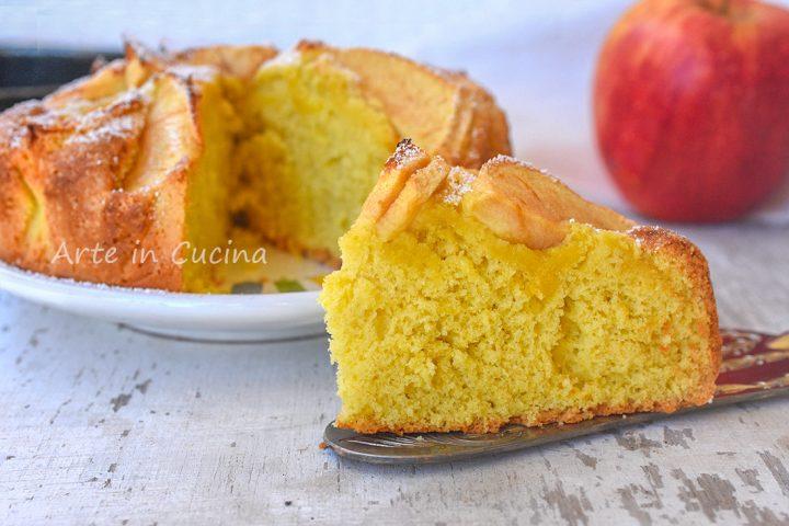 Torta di mele trentina senza burro