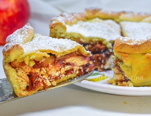 Torta viennese alle mele dolce veloce