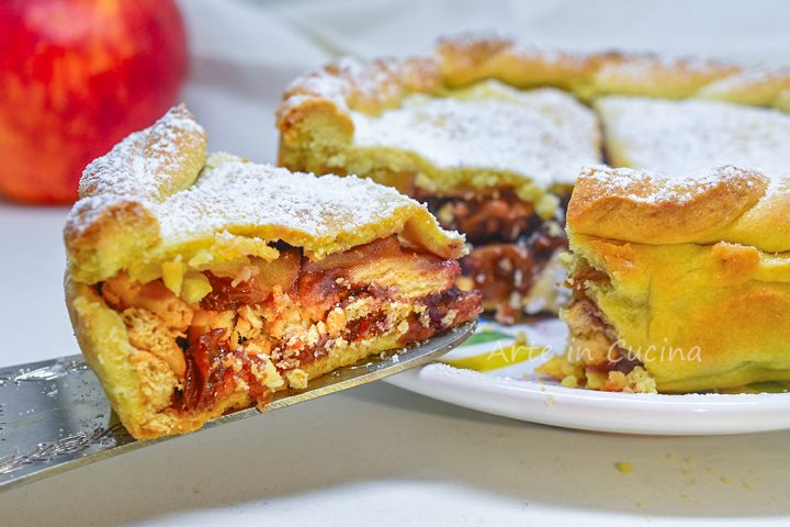Torta viennese alle mele dolce veloce strudel