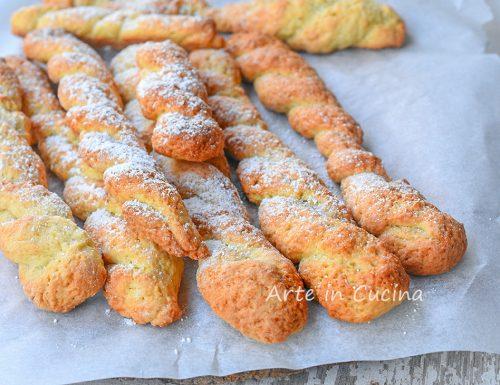 Biscotti intrecciati siciliani veloci