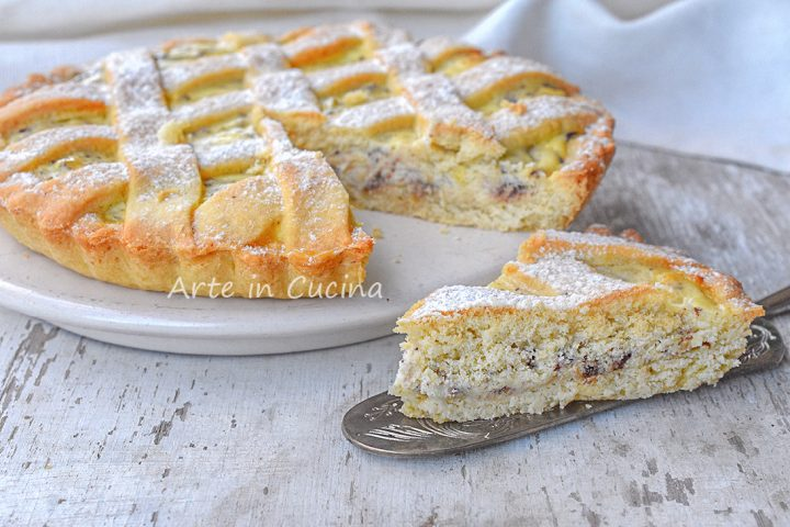 Calzone alla ricotta crostata dolce pugliese