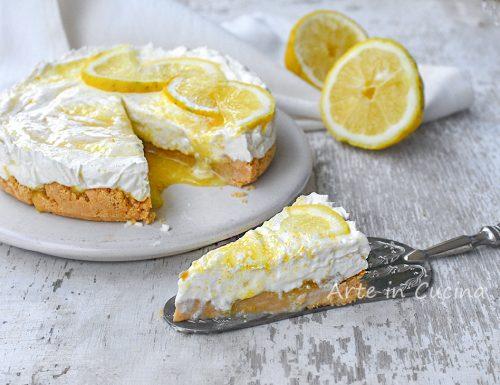 Cheesecake al limone dolce cremoso