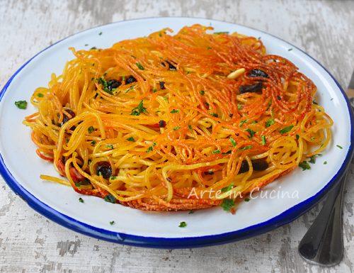 Frittata di scammaro ricetta napoletana