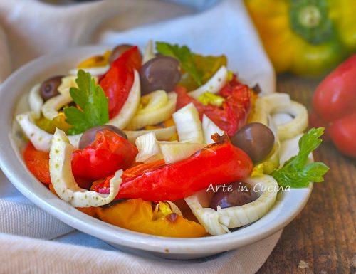 Insalata di peperoni e finocchi