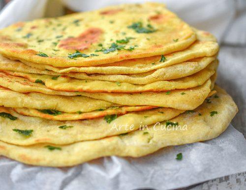 Pane naan veloce ricetta originale pane indiano
