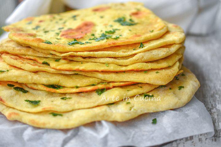 Pane naan ricetta originale pane indiano