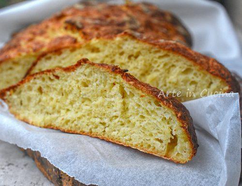 Pane con patate pugliese sofficissimo