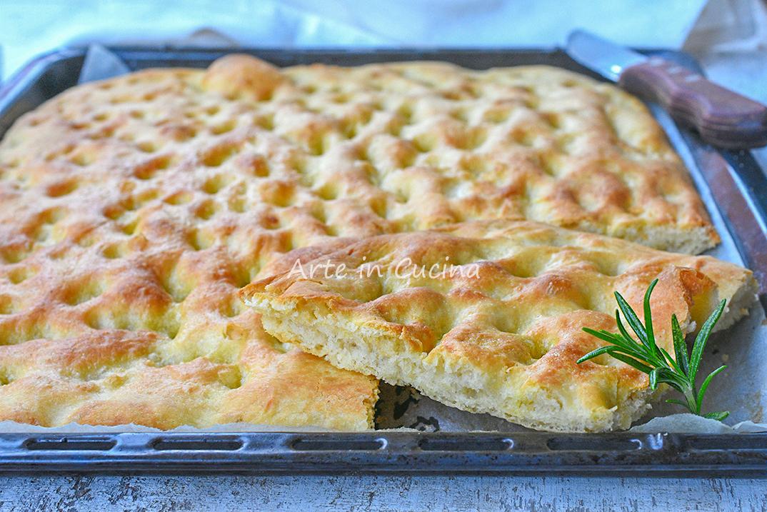 Focaccia Genovese Ricetta Originale Bimby.Focaccia Genovese Ricetta Originale Antica Della Nonna