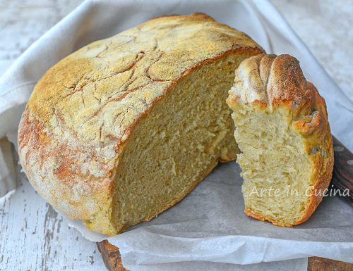 Pane fatto in casa come dal panettiere