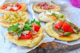 Pizzette da aperitivo e buffet veloci