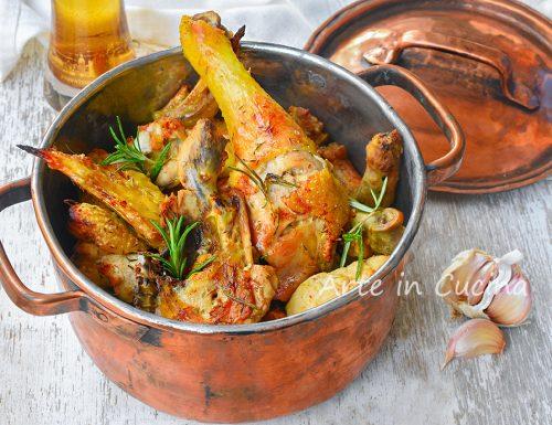 Pollo alla birra con marinatura in padella o al forno
