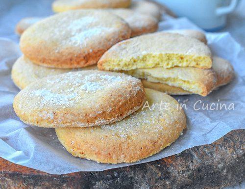 Riccioli mantovani biscotti