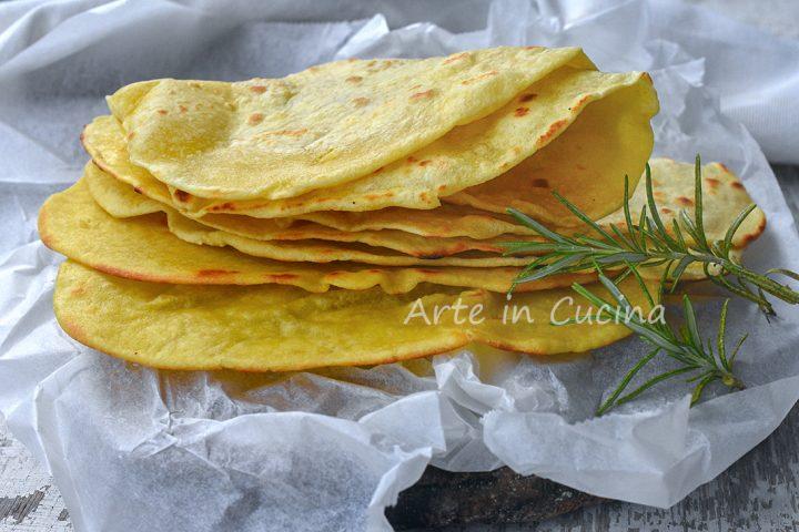 Tacos e tortillas fatti in casa senza lievito finger food