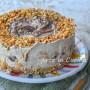 Cheesecake caffè e nutella dolce veloce