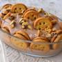 Dolce cremoso con baiocchi nutella e biscotti