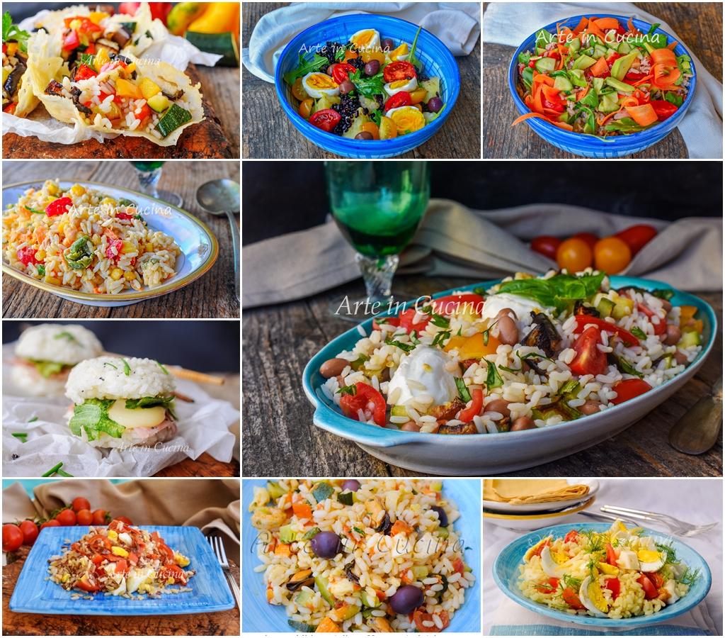 Piatti Freddi Veloci Da Asporto insalate di riso estive semplici piatti freddi veloci