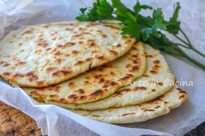 Pita greca senza lievito allo yogurt