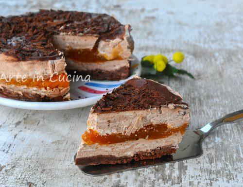 Sacher torta semifreddo dolce veloce
