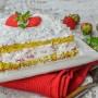 Torta fragole e cocco semifreddo veloce
